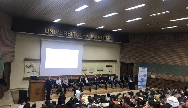 Foto: Ziua Carierei Albastre, la Universitatea Maritimă din Constanța