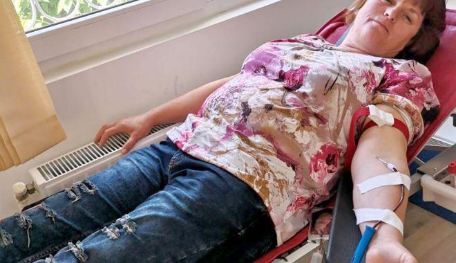 Foto: Ziua Mondială a Donatorului de Sânge, marcată și la Constanța