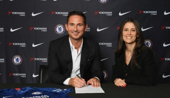 """Foto: Frank Lampard este noul antrenor al lui Chelsea: """"Vreau să aduc noi succese clubului"""""""