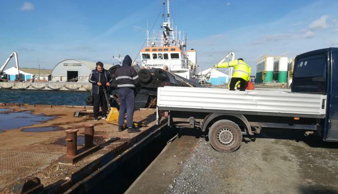 Foto: Zona din dreptul navei Queen Hind a fost ecologizată