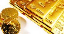 Prețul aurului a scăzut cu 0,41%