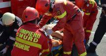 Accident rutier, urmat de incendiu, în județul Constanța