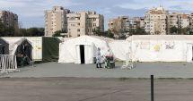 Spitalul Militar Mobil de pe stadionul Portul a devenit funcţional. Opt pacienţi suspecţi, internaţi