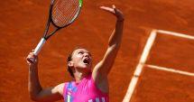 Simona Halep, calificare cu emoţii în sferturile turneului de la Roma