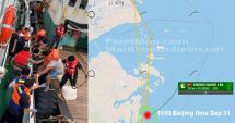 Un cargou s-a scufundat în urma coliziunii cu un pescador