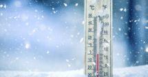 Prima dimineață cu temperaturi negative din această toamnă. Cum va fi vremea în următoarele zile