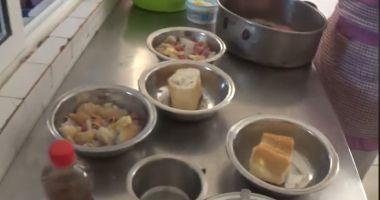 Imagini cutremurătoare! Cu ce se hrănesc pacienții de la un spital din Călărași