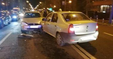 Neatenția la volan se plătește: ACCIDENT pe bulevardul Tomis!