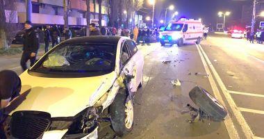 ACCIDENT GRAV în stațiunea Mamaia. Trei mașini implicate!