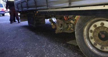 Șofer român, oprit în drum spre Viena. Polițiștii austrieci au rămas mască la vederea camionului!