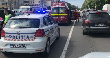 VIDEO. Accident rutier în zona Dacia. Sunt două victime!