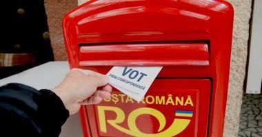 Câți români din străinătate s-au înscris pentru votul prin corespondență la parlamentare