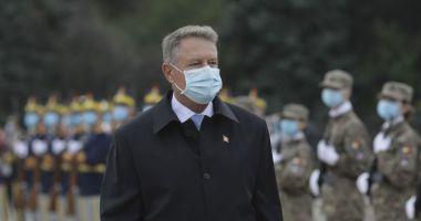 Klaus Iohannis: Armata României este pregătită să sprijine autoritățile în situații de criză