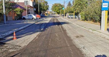 Atenție, șoferi! Încep lucrările de asfaltare pe strada Hatman Luca Arbore din Constanţa