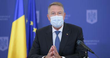 Klaus Iohannis: Ne aflăm într-un veritabil val doi al pandemiei