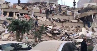Cutremur cu magnitudinea 7, în Turcia. Un tânăr a surprins momentul
