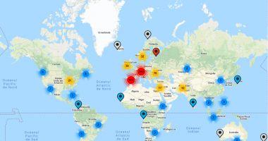 MAE a lansat harta interactivă a secţiilor de votare din străinătate