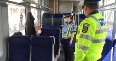 Peste 300 de sancţiuni au fost aplicate în urma controalelor în trenuri şi staţii de cale ferată
