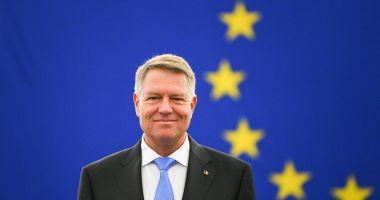 Klaus Iohannis: Felicitări președintelui Joe Biden și vicepreședintelui Kamala Harris