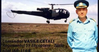 DOLIU ÎN AVIAȚIE! A încetat din viață comandorul Vasile Cetali