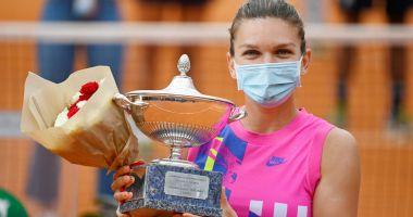 Simona Halep, nominalizată la titlul de jucătoarea anului 2020