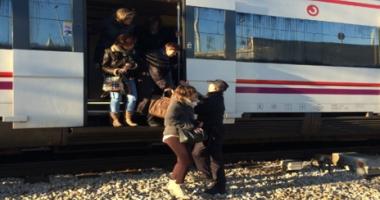ALERTĂ, BOMBĂ! Un tren pe ruta Varșovia-Berlin, evacuat