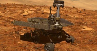 """NASA declară oficial """"decesul"""" robotului Opportunity, care a cercetat suprafața planetei Marte"""