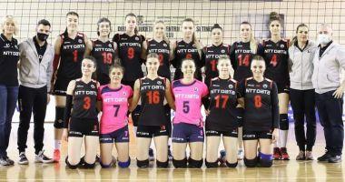 Volei / U NTT Data Cluj şi CS Dacia Mioveni vor juca în DA1 feminină