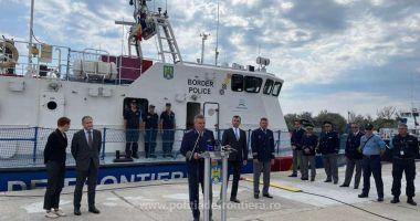 GALERIE FOTO. Conducerea FRONTEX, în vizită la Grupul de Nave Mangalia