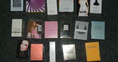 CAPTURĂ în Târgul duminical din Constanța: parfumuri și ceasuri contrafăcute!