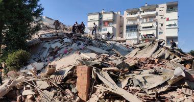 VIDEO. Cutremur cu magnitudinea 7, în Turcia. Un tânăr a surprins momentul