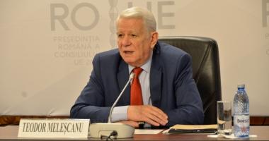 """Meleșcanu: """"Avem mulți candidați pentru premier, începând cu Tăriceanu"""""""