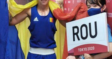 Olimpism / Pugilista Claudia Nechita, la un pas de medalie, la JO de la Tokyo