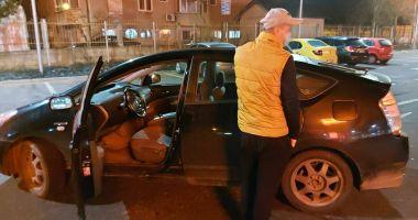 Un șofer care voia să fugă de la locul accidentului, prins de un jandarm aflat în timpul liber