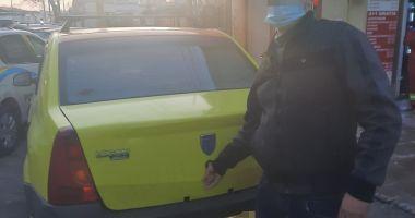 TAXI PIRAT pe străzile din Constanța. Sancționat drastic de Poliția Locală!