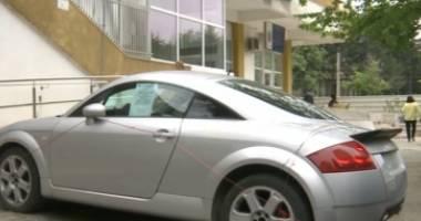 O mașină a fost confiscată pentru neplata impozitului auto