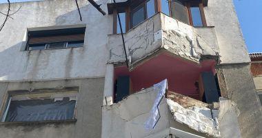 GALERIE FOTO / URMĂRI DEVASTATOARE după explozia unei centrale termice, la Medgidia