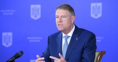 Klaus Iohannis va participa la reuniunea Consiliului European
