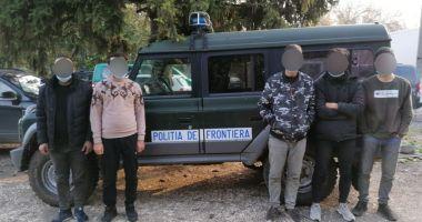 Cinci irakieni depistați de polițiștii de frontieră constănțeni