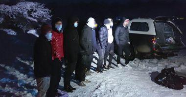 Migranți irakieni, depistați la graniță cu Bulgaria