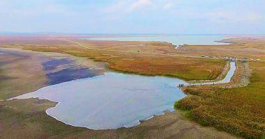 Lacul Nuntași ARE DIN NOU APĂ, după ce secase complet!