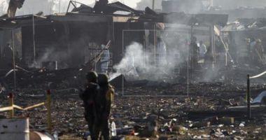Explozie de amploare la un depozit de artificii: Cel puțin 19 morți și zeci de răniți