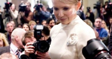 Iulia Timoșenko a primit șapte ani de închisoare pentru abuz de putere