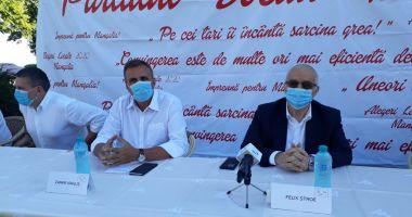 Felix Stroe: Mangalia are nevoie de un primar de talia lui Zanfir Iorguș