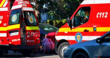 Accident grav pe bulevardul Alexandru Lăpușneanu. Un pieton este resuscitat