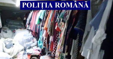 DESCINDERE la un ANGRO din Constanța. Poliția a confiscat haine de 56.000 de lei