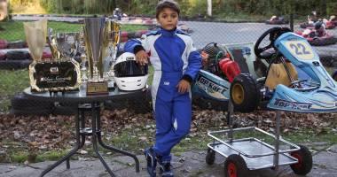 Galerie foto. Constănțeanul Mihai Suteanu, campion național la karting