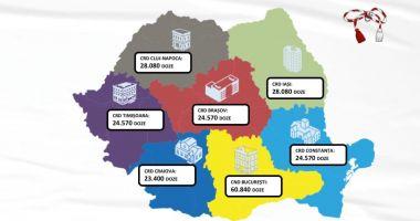O nouă tranșă de vaccin Pfizer BioNTech sosește mâine în România