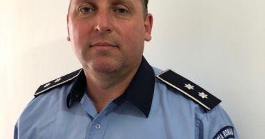 Poliția Năvodari are un nou șef. Cine este comisarul care a preluat comanda
