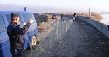 Braconieri prinși de polițiștii de frontieră